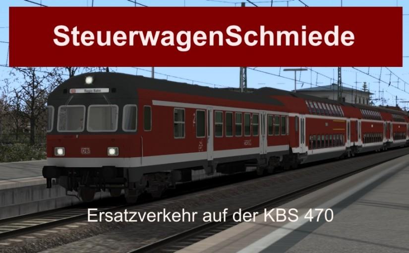 Neues Szenario: Ersatzverkehr auf der KBS 470